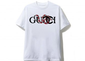 Gucci Red Snake T shirt design
