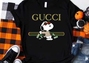 Snoopy Dog Money Guccy T shirt design