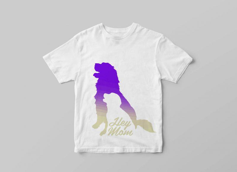 HEY MOM tshirt designs for merch by amazon