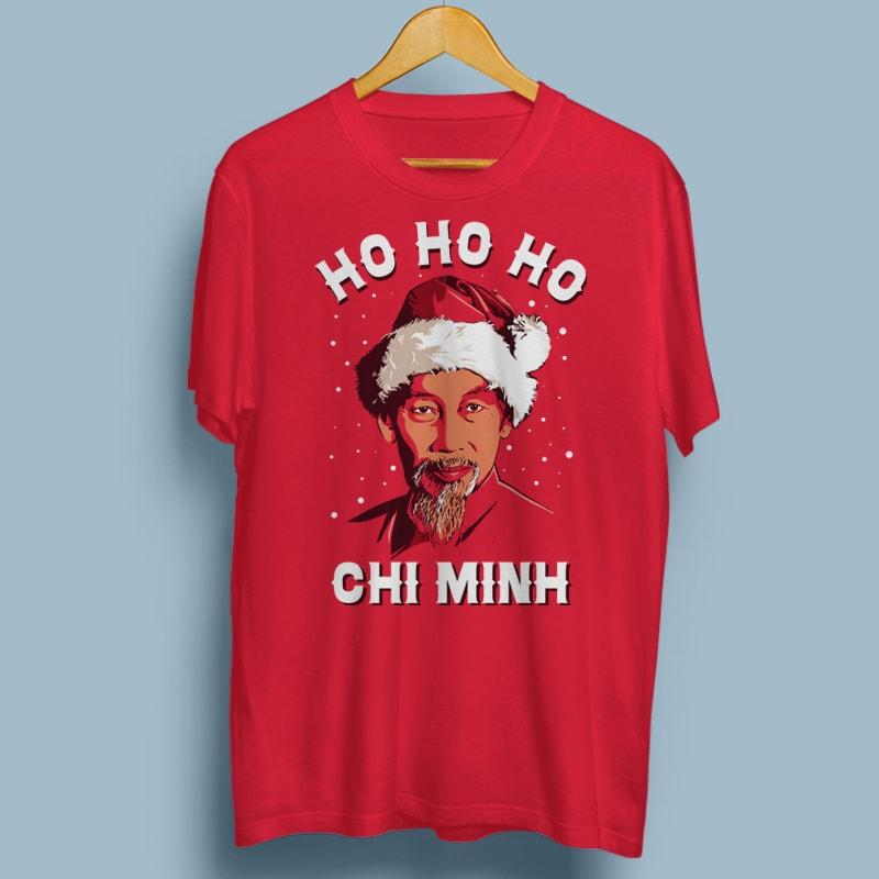 HO HO HO CHI MINH buy t shirt designs artwork