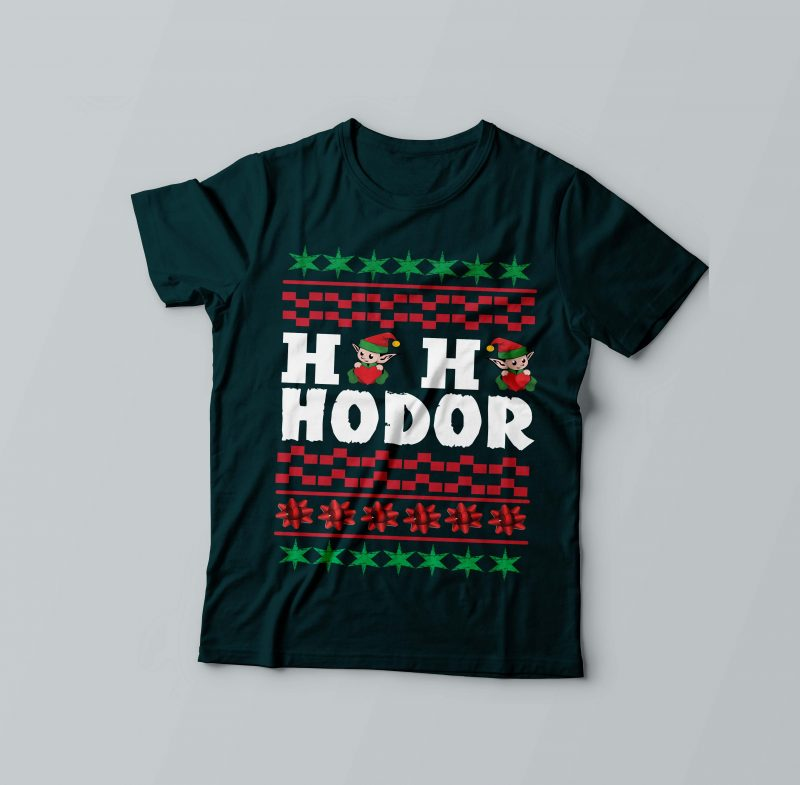 Ho Ho Ho Hodor t shirt designs for sale