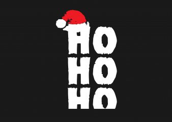 HO HO HO Christmas graphic t shirt