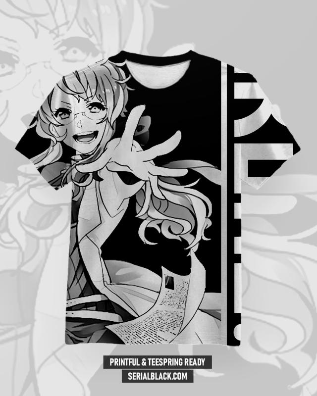 Anime Girl #2 T-Shirt Design vector shirt designs