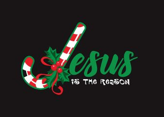 Jesus Is The Reason t shirt design png