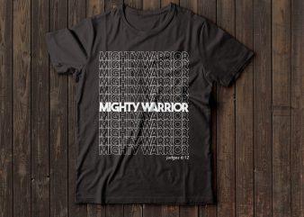 mighty warrior judges 6:12 | bible t-shirt | christian t-shirt | religion t-shirt