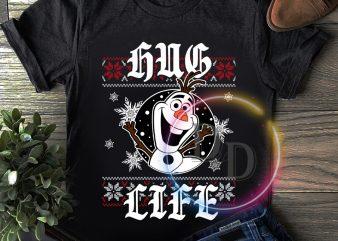 Olaf hug life frozen snow T shirt