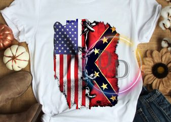 Texas USA Flag Pride T shirt design