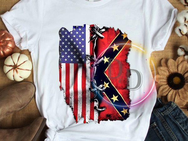 Texas USA Flag Pride T shirt design