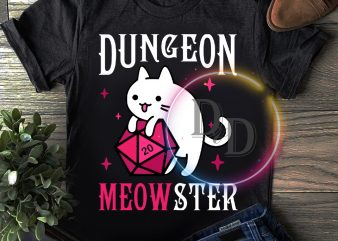 Dungeon Meowster Cute Pinky T shirt