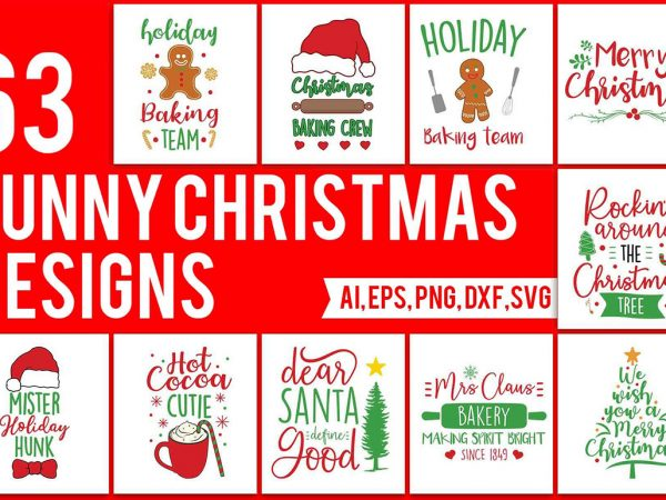63 Funny Christmas Designs