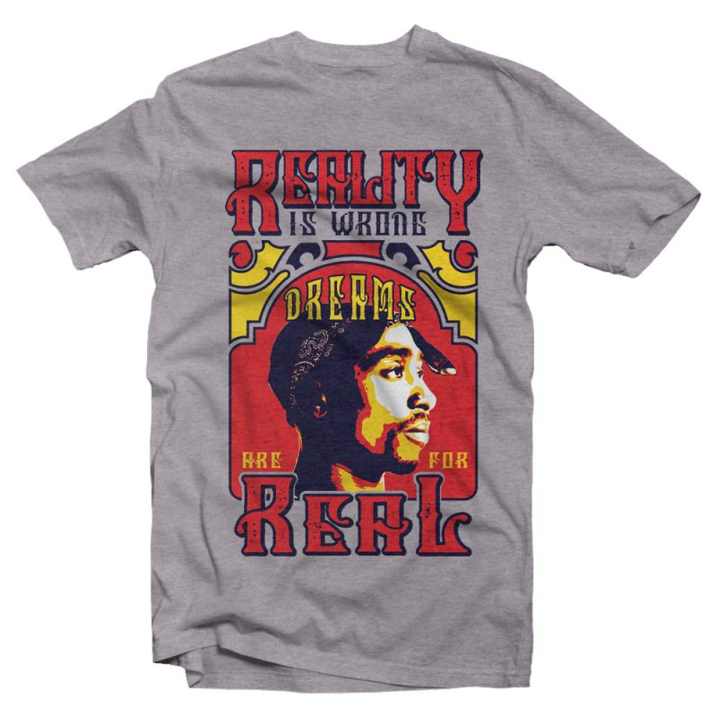 Reality is Wrong t shirt designs for merch teespring and printful