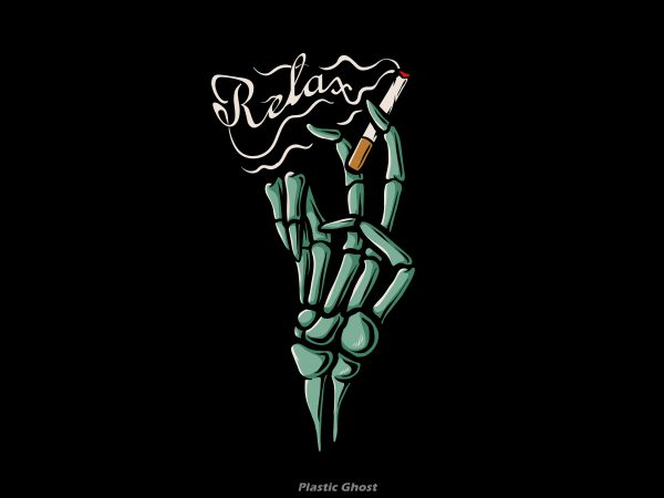 Relax tshirt design for sale