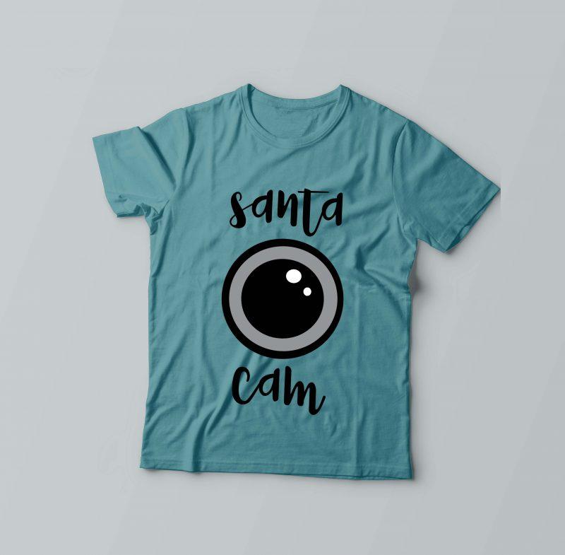 Santa Cam buy t shirt designs artwork
