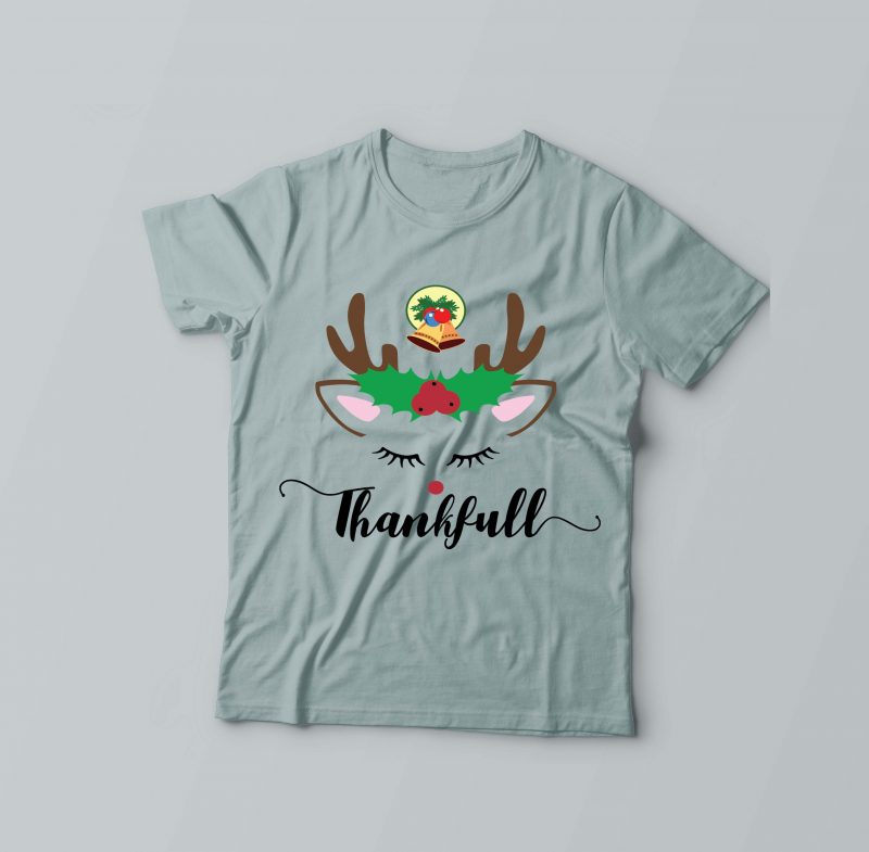 Thankful Unicorn Horse t shirt designs for sale