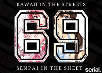 Otaku Streetwear T-Shirt Design