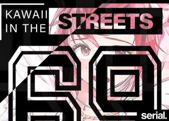 Anime Streetwear T-Shirt Design