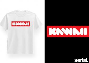 Supreme Kawaii T-Shirt Design