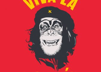 Viva La Evolucion vector t-shirt design for commercial use