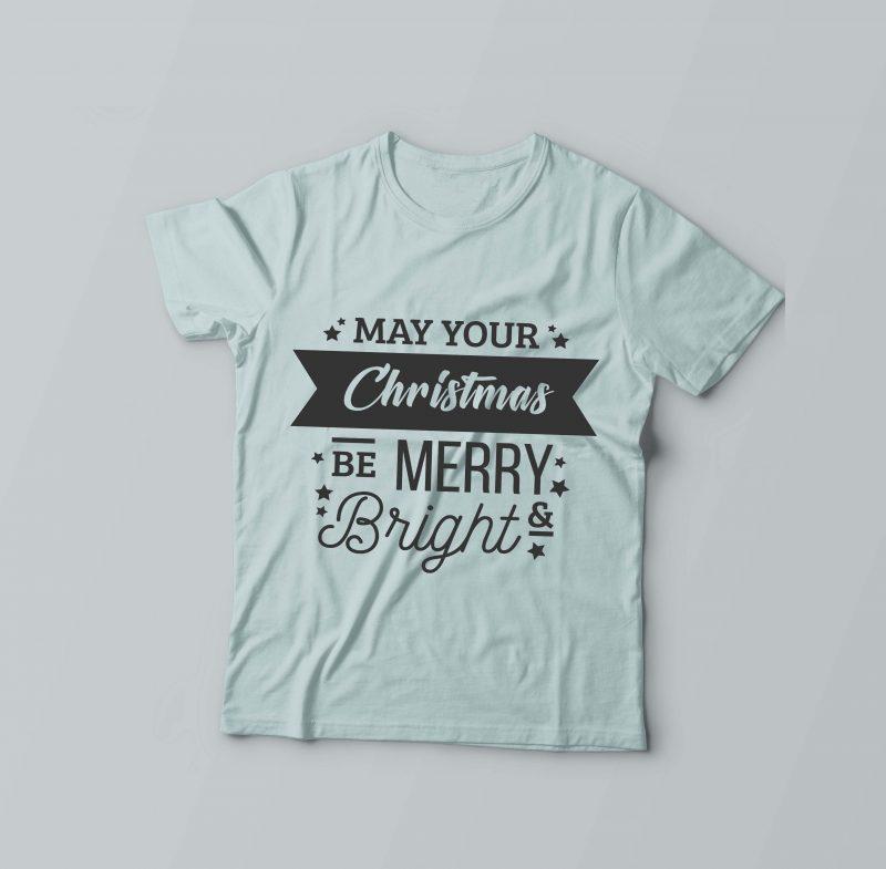 Be Merry & Bright buy t shirt designs artwork