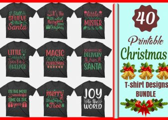 40 christmas sweater designs, christmas designs,christmas bundle,christmas svg bundle