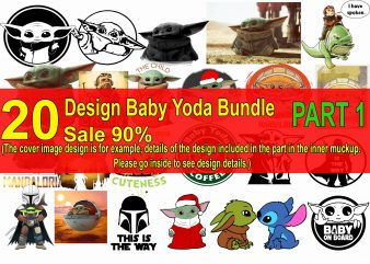 20 Design baby yoda bundle sale of 90% Part 1, baby yoda