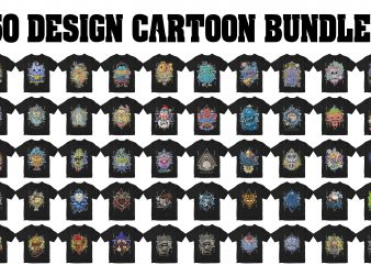 50 cartoon design bundles