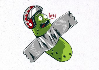 pickle taped Graphic t-shirt design