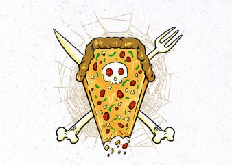 dead of pizza Graphic t-shirt design