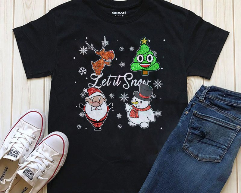 SPECIAL CHRISTMAS BUNDLE PART 8- 75 EDITABLE DESIGNS – 95% OFF – PSD, PNG AND FONT – LIMITED TIME ONLY! tshirt design for sale