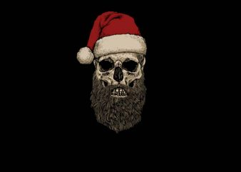 Santa Beard t shirt design to buy