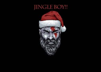 Jingle Boy print ready shirt design
