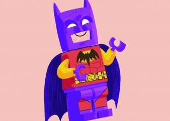 Lego Batman Comis – DC Tshirt