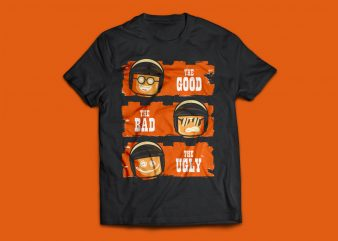 Lego Goob – Bad – Ugly Tshirt