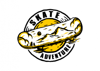 Skate Adventure t shirt design to buy