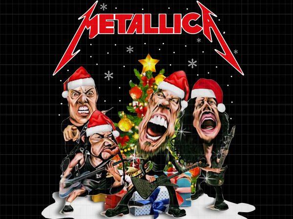 Metallica christmas t shirt designs for sale