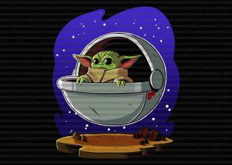 Baby Yoda, The Mandalorian The Child Christmas png , Baby Yoda Png, star wars png, The Child png t shirt template