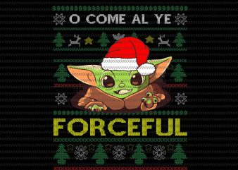 The Mandalorian The Child Christmas knitting png , Baby Yoda Png, star wars png, The Child png, star wars christmas png t shirt designs for sale