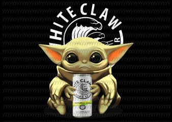 Baby yoda white claw png, Baby Yoda, The Mandalorian The Child Christmas png , Baby Yoda Png, star wars png, The Child png t shirt template