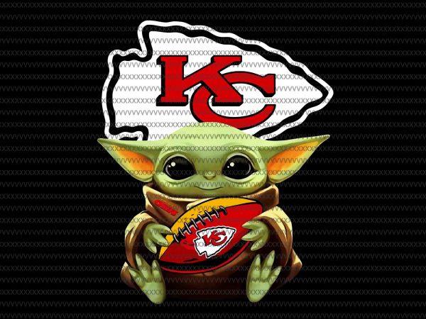 Baby yoda Kansas City Chiefs png, Kansas City Chiefs logo, Kansas City Chiefs vector, Baby Yoda, The Mandalorian The Child Christmas png , Baby Yoda Png, star wars png, The Child png