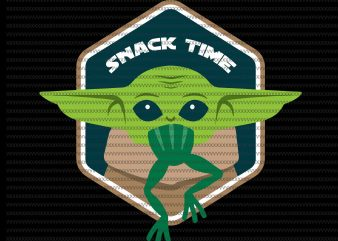Snack Time svg, The Mandalorian The Child svg , Baby Yoda christmas svg, star wars svg, png, The Child png t shirt template vector