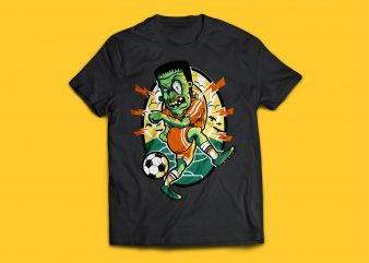 Zombie Soccer T-shirt