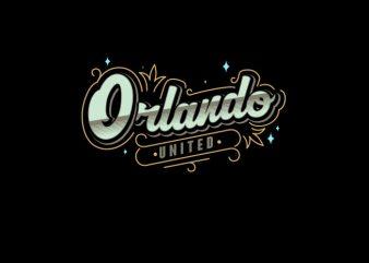 Orlando Vector t-shirt design