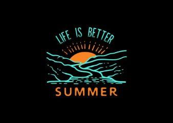Summer Vector t-shirt design