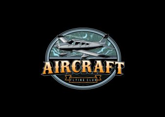 Aircraft Vector t-shirt design