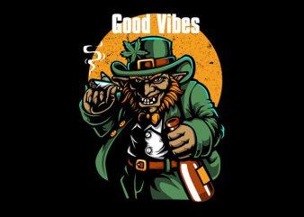 Good Vibes Vector t-shirt design