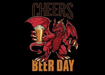 Beer Day Vector t-shirt design