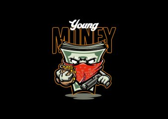 Young Money Vector t-shirt design