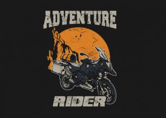 adventure rider t shirt design for purchase