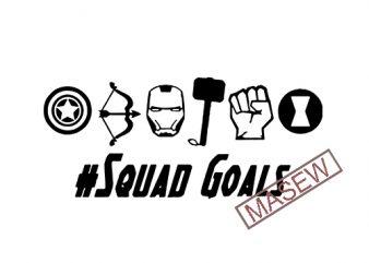 Superhero squad svg Superhero logo svg Avengers logo svg Superheroes svg DIY T-Shirt Avengers printable silhouette Cut files svg dxf png