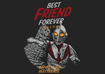 Best Friend Forever t shirt template
